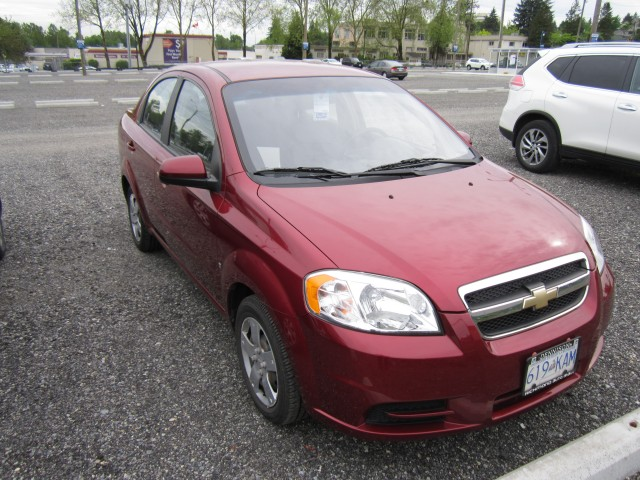 2009 CHEVROLET AVEO LS in Vancouver, British Columbia
